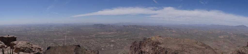 Panoramic view from the Flatiron